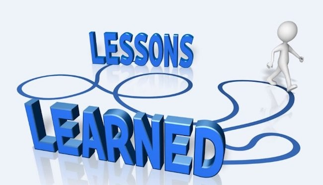 Lessons Learned- Sid Younan